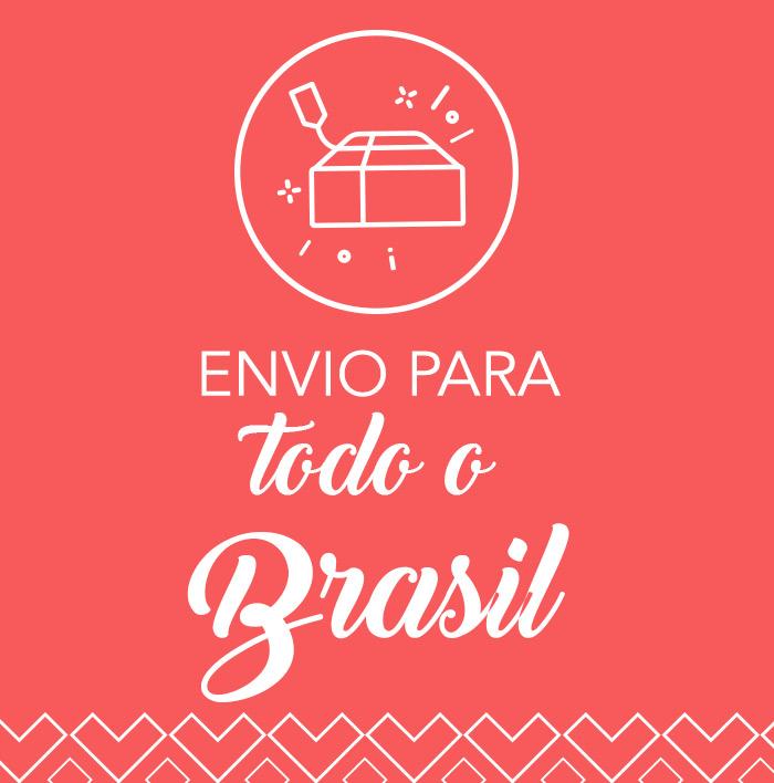Envio para todo o Brasil